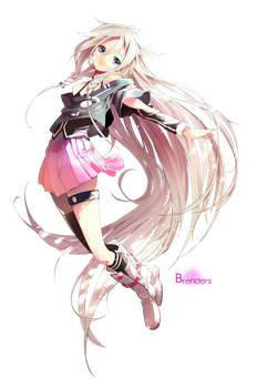 Ia Vocaloid Render by Bila-sama