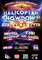Helicopter Showdown by blacklabelwood