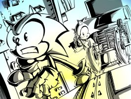 Sonic Generations: CE Inks by SkipperWing