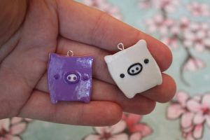Monokuro Boo Charms by funkypinkgal