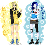 Alice and Yui by MaCia998