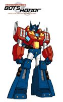 OPTIMUS PRIME - ROBOT MODE by Bots-of-Honor