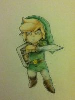 Wind Waker Link Tattoo design by Link-artist