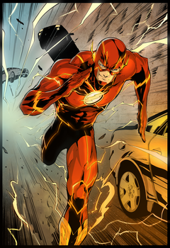 Flash coloured by SandraMJ