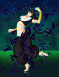 Judal dancing with Rukh by MieMichin