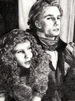 Lestat and Claudia by feliciteatime