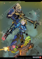 Commission: Mass Effect 3 by Todd3point0