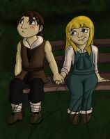 HM Claire and Cliff: Kiriban by Amberedge57