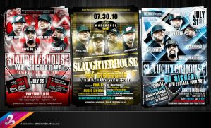 SLAUGHTERHOUSE Flyers by AnotherBcreation