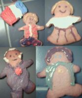 Les Mis and Hobbit Cookies by dramakitty