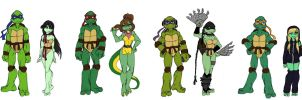 TMNT height chart by Lily-pily
