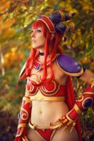 Alexstrasza - Queen of the Dragons by Elithia