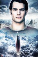 Man Of Steel Poster by FastMike