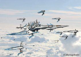 Air fleet by TateishiEigo