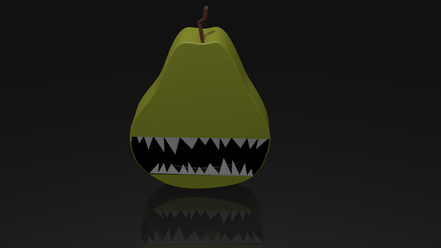Evil Pear by therealitydreamers