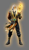 Orange Agent Shang Tsung by Lord-Lycan