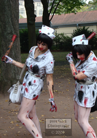Zombie Nurses by pure-faces