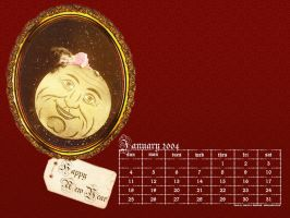 January 2004 calendar by kriegs