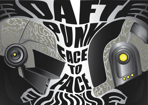 Daft Punk: Face to Face by SleepyOctopus