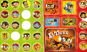 ::my el tigre stickers:: by Fire-Miracle