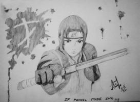 Sai: If Pencil Made Ink.... by Iza-nagi