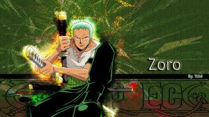 one piece 'zoro' by polia-kov
