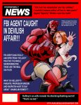 TLIID 177. Hellboy and Scully by AxelMedellin
