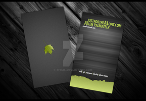Personal Card 1.0 by TheAL