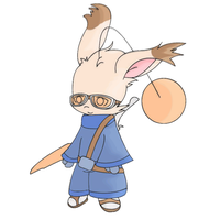 Moogle Fighter v2 by Shadow86SK