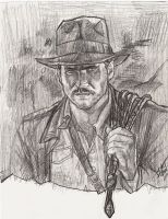 Raiders of the Lost Ark - Indiana Jones - R. Amsel by smjblessing