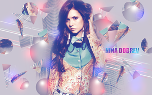 Nina Dobrev Wallpaper by Anarhya92