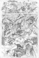 RAVAGER p.3 page 4 pencils by Cinar