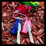Anza Knives Tanto Keychains 2 by JGSheaths