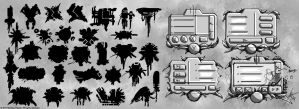Diablo 3 Launcher Concepts by Panperkin