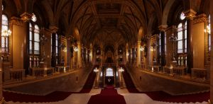 Parliament Entrance, Budapest, Hungary by FlawlessMonkey