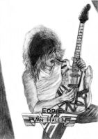 """Eddie Van Halen"" by JonXDream"