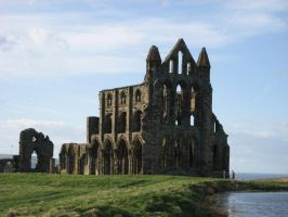 Whitby Abbey Ruins Entire by Duamuteffe