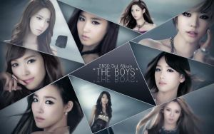 Girm's Generation The Boys Wallpaper by o0Tiffany0o