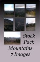 Stock Pack - Mountains by Gracies-Stock