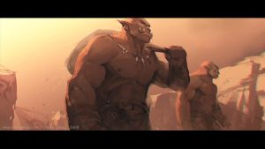 Impression of Warcraft Movie Trailer #8 by YanmoZhang