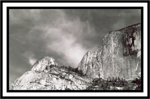 Half Dome Black and White by Bloody-Medium