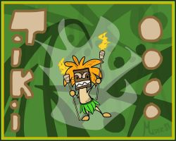 Tiki Meder The Torch by KM-cowgirl
