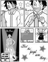 One Piece:High School Never Ends Page Five by Reverendbug