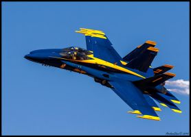 El Centro 2014 Blue Angles by AirshowDave