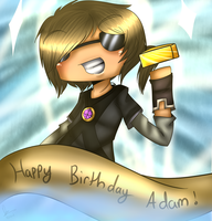 Happy Birthday Adam! :D by Guardian-Zodiac