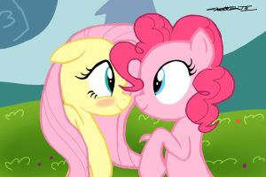 MLP - The Pink and the Shy by WillisNinety-Six