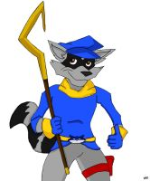 Sly Cooper Approves by RedSlashwolf