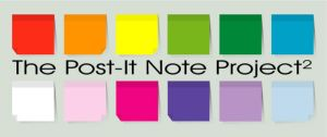 The Post-It Note Project 2 by ChewedKandi