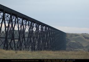 Train Bridge by SalsolaStock