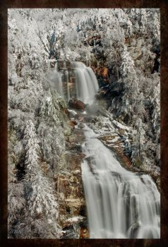 Whitewater Falls in White by milesmoody